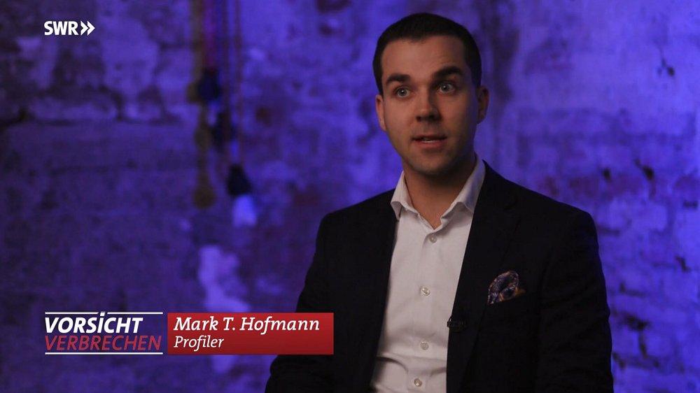 Mark T. Hofmann - Profiler Deutschland SWR Vorsicht Verbrechen