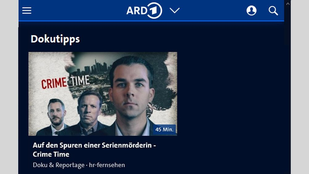 Mark T. Hofmann Sendung: Crime Time hessischer Rundfunk
