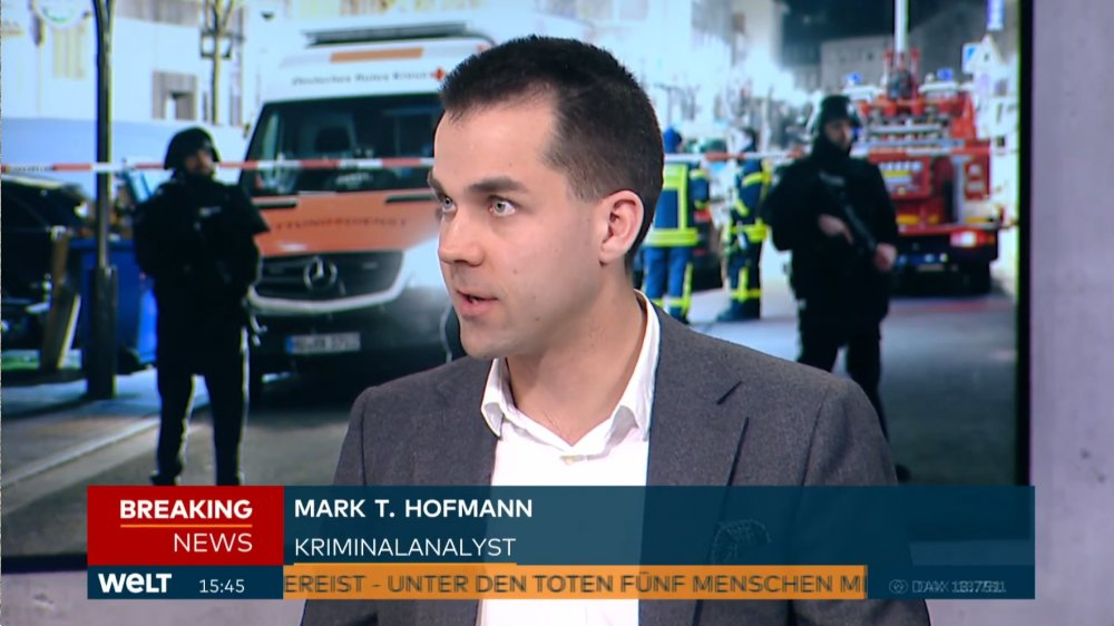 Mark T. Hofmann, Fallanalytiker im Interview