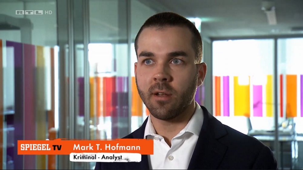 Mark T. Hofmann Spiegel TV Interview