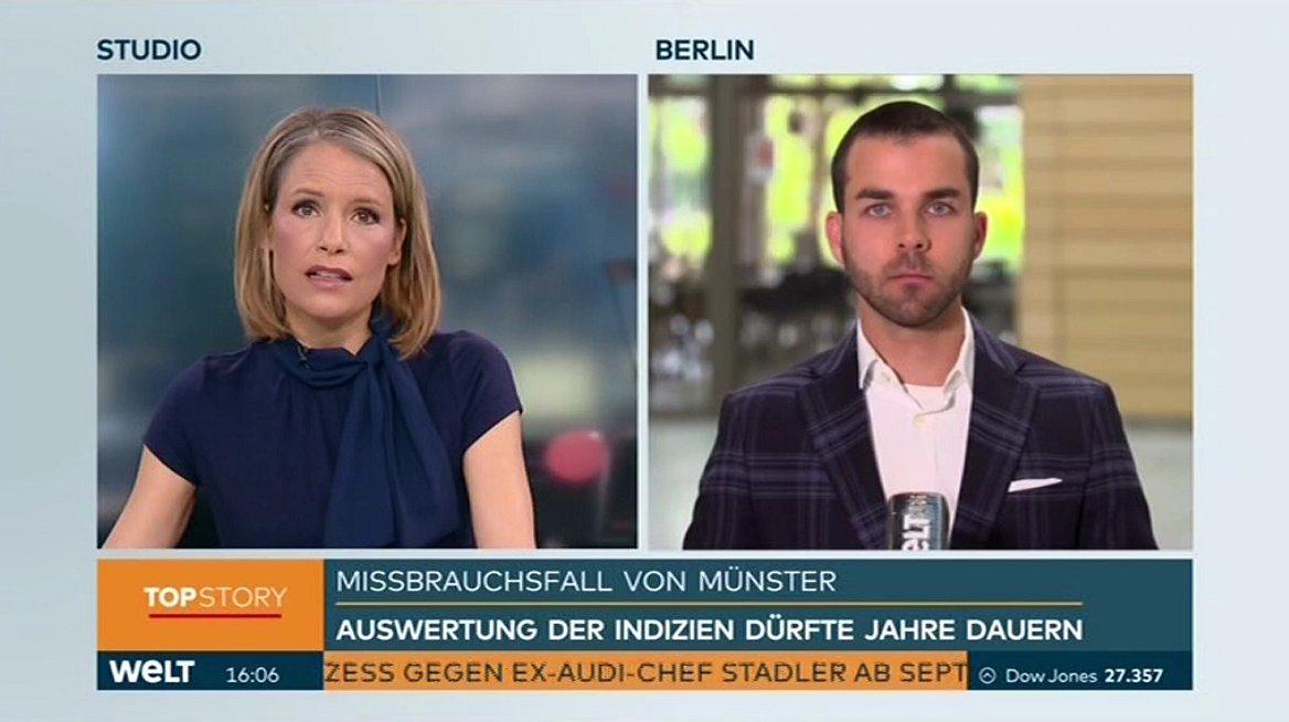 Mark T. Hofmann Profiler über Pädophilenring Münster