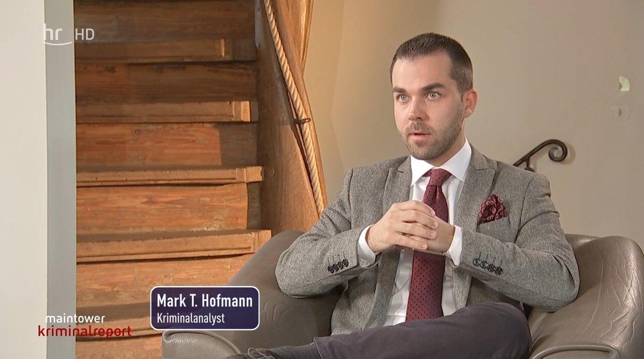 Mark T. Hofmann ARD hr Thementalk Stalking-Experte Sept 2020
