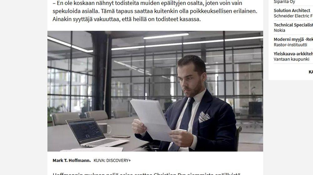 Profiler Mark T. Hofmann